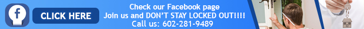 Join us on Facebook - Locksmith Phoenix